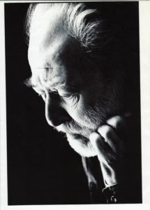 Photo of Basil Kirchin as an older man